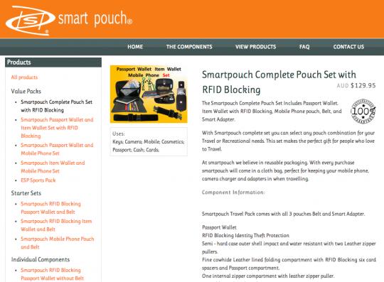 SmartPouch
