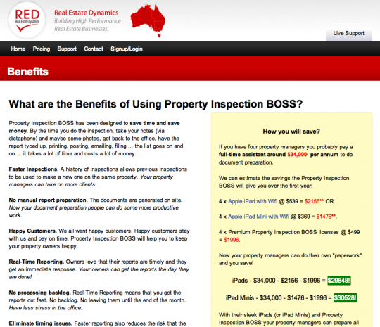 Property Inspection Boss